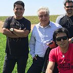 پشت صحنه سریال تلویزیونی مس با حضور مرتضی کاظمی، رامین الماسی و عبدالرضا صادقیجهانی
