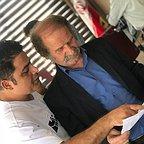 پشت صحنه سریال تلویزیونی مس با حضور فرجالله گلسفیدی و رامین الماسی