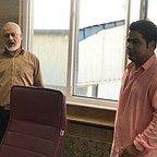 پشت صحنه سریال تلویزیونی مس با حضور مجید مشیری و رامین الماسی
