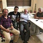 پشت صحنه سریال تلویزیونی مس با حضور فرجالله گلسفیدی، مجید شهریاری، مرتضی کاظمی و رامین الماسی