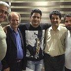 پشت صحنه سریال تلویزیونی مس با حضور فرجالله گلسفیدی، مجید شهریاری و رامین الماسی