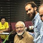 پشت صحنه سریال تلویزیونی مس با حضور فرجالله گلسفیدی، مجید مشیری و عبدالرضا صادقیجهانی