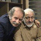 پشت صحنه سریال تلویزیونی مس با حضور فرجالله گلسفیدی و مجید مشیری
