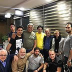 پشت صحنه سریال تلویزیونی مس با حضور فرجالله گلسفیدی، مجید شهریاری، مجید مشیری، رامین الماسی و عبدالرضا صادقی جهانی