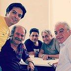 پشت صحنه سریال تلویزیونی مس با حضور فرجالله گلسفیدی، مجید شهریاری، مرتضی کاظمی، رامین الماسی و عبدالرضا صادقیجهانی