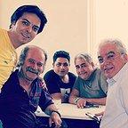 پشت صحنه سریال تلویزیونی مس با حضور فرجالله گلسفیدی، مجید شهریاری، مرتضی کاظمی، رامین الماسی و عبدالرضا صادقی جهانی