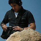 تصویری از میثم یاردیلو، صدابردار و دستیار صدابردار سینما و تلویزیون در پشت صحنه یکی از آثارش