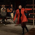 مینا ساداتی در صحنه فیلم سینمایی فروشنده