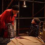مینا ساداتی در صحنه فیلم سینمایی فروشنده به همراه سام ولیپور