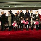 شیوا کریمی در اکران افتتاحیه فیلم سینمایی آخرین بار کی سحر را دیدی؟ به همراه محمدرضا غفاری، آناهیتا درگاهی و بهاران بنیاحمدی