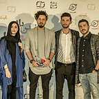 شیوا کریمی در اکران افتتاحیه فیلم سینمایی آخرین بار کی سحر را دیدی؟ به همراه مهرداد صدیقیان، آناهیتا درگاهی و محمدرضا غفاری