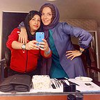 پشت صحنه فیلم سینمایی لس آنجلس تهران با حضور مهناز افشار
