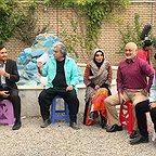 پشت صحنه سریال تلویزیونی مس با حضور سیروس میمنت، مجید مشیری، رامین الماسی و عبدالرضا صادقیجهانی