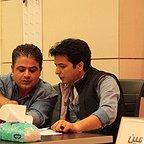 پشت صحنه سریال تلویزیونی مس با حضور رامین الماسی و عبدالرضا صادقیجهانی