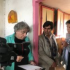 پشت صحنه سریال تلویزیونی مس با حضور سیروس میمنت و عبدالرضا صادقیجهانی