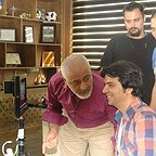 پشت صحنه سریال تلویزیونی مس با حضور مجید مشیری و عبدالرضا صادقی جهانی