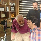 پشت صحنه سریال تلویزیونی مس با حضور مجید مشیری و عبدالرضا صادقیجهانی