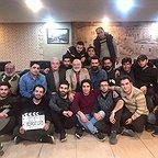 پشت صحنه سریال تلویزیونی مس با حضور مجید مشیری، مرتضی کاظمی، رامین الماسی، سیامک اسفندیاری و محمد حسنزاده
