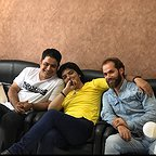 پشت صحنه سریال تلویزیونی مس با حضور رامین الماسی و عبدالرضا صادقی جهانی