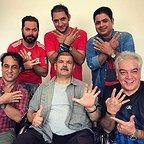 پشت صحنه سریال تلویزیونی مس با حضور کیانوش گرامی، رامین راستاد، مرتضی کاظمی و رامین الماسی
