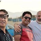 پشت صحنه سریال تلویزیونی مس با حضور رامین راستاد، مجید مشیری و رامین الماسی