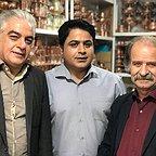 پشت صحنه سریال تلویزیونی مس با حضور فرجالله گلسفیدی، مرتضی کاظمی و رامین الماسی