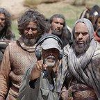بابک حمیدیان در پشت صحنه فیلم سینمایی رستاخیز