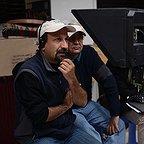 پشت صحنه فیلم سینمایی فروشنده با حضور محمود کلاری و اصغر فرهادی