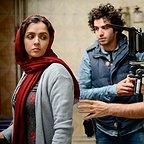 پشت صحنه فیلم سینمایی فروشنده با حضور ترانه علیدوستی و اصغر فرهادی