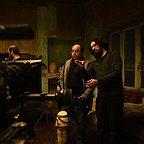 پشت صحنه فیلم سینمایی خانهای در خیابان چهل و یکم با حضور هومن بهمنش و حمیدرضا قربانی