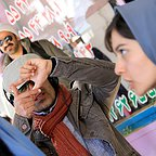 پشت صحنه فیلم سینمایی لاک قرمز با حضور پردیس احمدیه