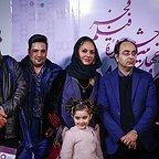 عکس جشنواره ای فیلم سینمایی خانهای در خیابان چهل و یکم با حضور مهناز افشار و حمیدرضا قربانی