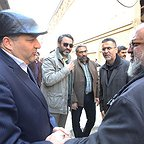 پشت صحنه فیلم سینمایی سرو زیر آب با حضور سیدحامد حسینی