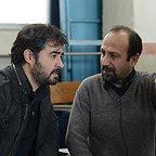 پشت صحنه فیلم سینمایی فروشنده با حضور سید شهاب حسینی و اصغر فرهادی