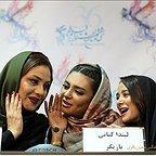 نشست خبری فیلم تلویزیونی خجالت نکش با حضور شبنم مقدمی، الناز حبیبی و لیندا کیانی