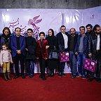 عکس جشنواره ای فیلم سینمایی خانهای در خیابان چهل و یکم با حضور علی مصفا، سهیلا رضوی، مهناز افشار و حمیدرضا قربانی