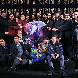 فرش قرمز انیمیشن فیلشاه در جشنواره فجر 36