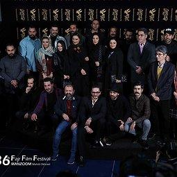 فوتوکال فیلم «خجالت نکش» با حضور بازیگران و عوامل