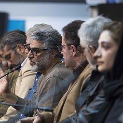 فوتوکال و نشست خبری فیلم «سرو زیرآب» با حضور بازیگران و عوامل