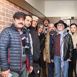 تصاویر هنرمندان و مردم در سینماهای مردمی جشنواره فیلم فجر