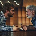 بابک حمیدیان در صحنه فیلم سینمایی بادیگارد به همراه پرویز پرستویی