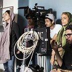 پشت صحنه فیلم سینمایی من با حضور معینرضا مطلبی و لیلا حاتمی