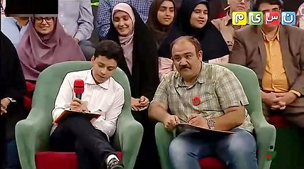 سوتی مهران غفوریان و رامبد جوان در بازی اسم فامیل خندوانه