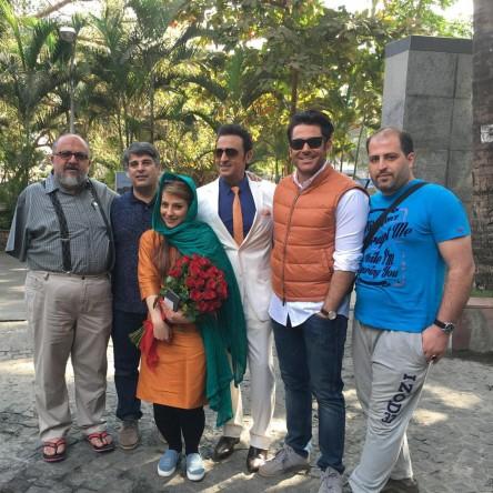 تصاویر منتخب منظوم از پشت صحنه فیلم «سلام بمبئی»