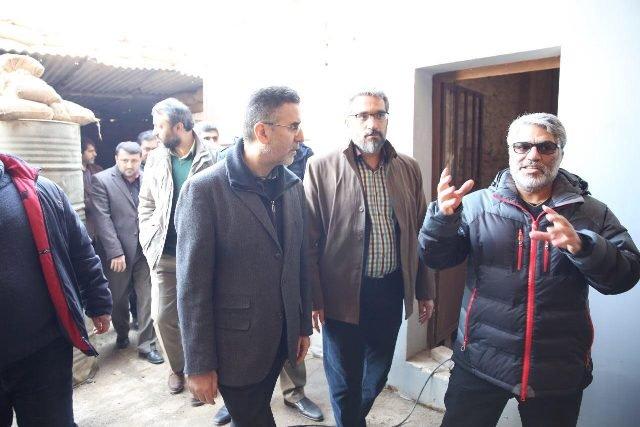 محمد علی باشه آهنگر در فیلم سرو زیر آب