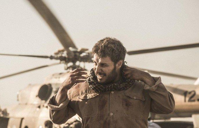 جواد عزتی در تنگه ابوغریب