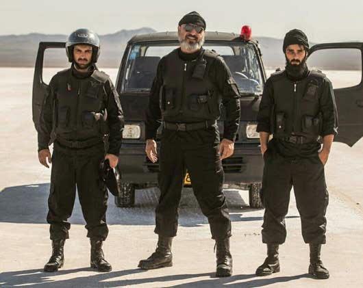 سه شخصیت اصلی  فیلم سینمایی «گشت ارشاد 2»