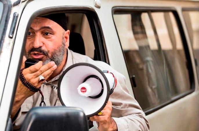 حمید فرخ نژاد در نمایی از  فیلم سینمایی «گشت ارشاد 2»