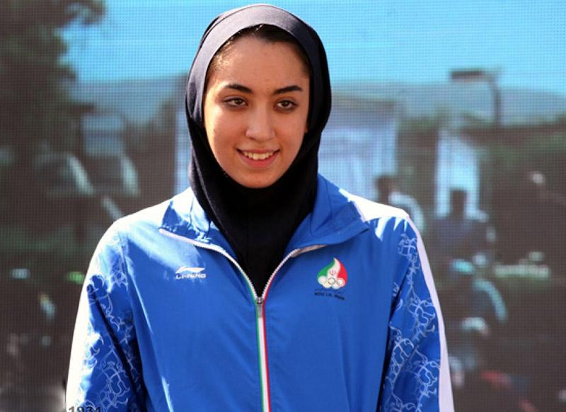 کیمیا علیزاده ورزشکار ایرانی