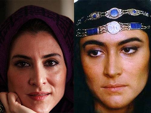 گریم ویشکا آسایش در سریال امام علی (ع)